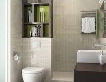 صوره حمامات صغيرة , كيف تنظم حمام منزلك