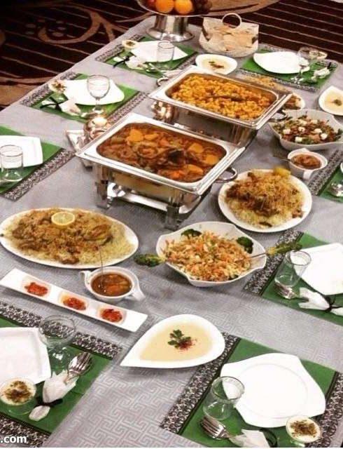 صور سفرة رمضان , اشهى اكلات رمضان