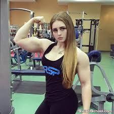 بالصور كمال اجسام نساء , نساء تلعب مصارعه 2730 5