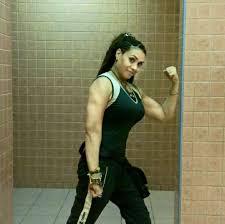 بالصور كمال اجسام نساء , نساء تلعب مصارعه 2730 6