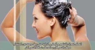صوره حمام زيت للشعر , وصفات لجمال الشعر