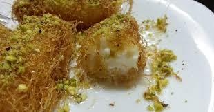 صورة طريقة عمل الكنافه بالقشطه , حلويات رمضان الشهية
