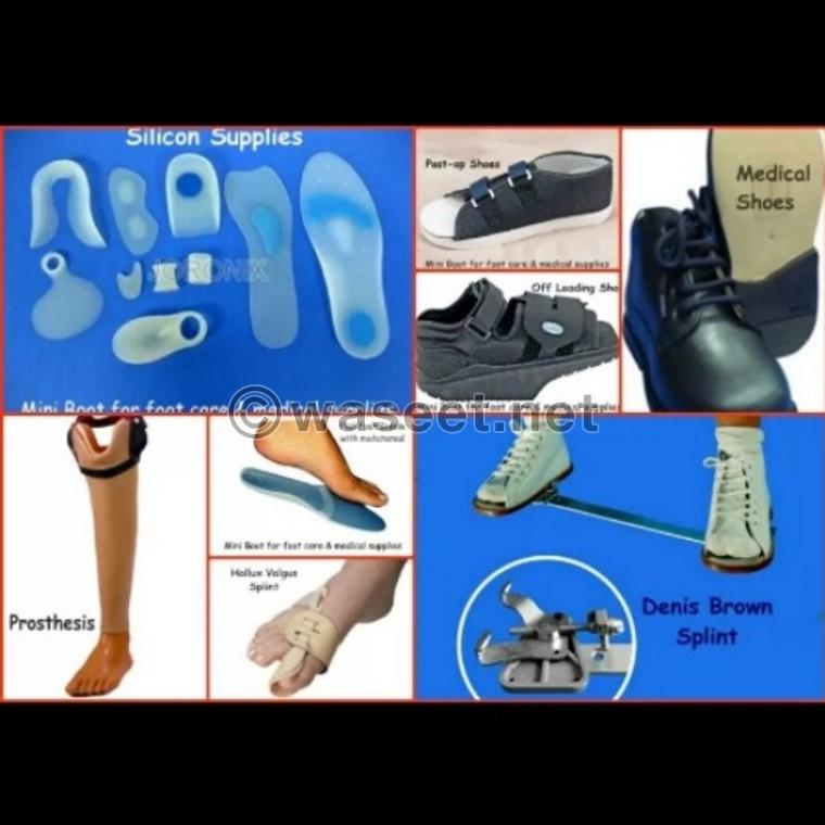 صور احذية طبية , صور واشكال الحذاء الطبى