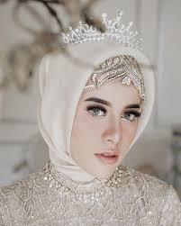 صورة صور عرايس محجبات , صور بنات محجبه فى العرس