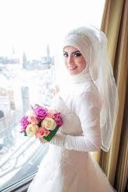 بالصور صور عرايس محجبات , صور بنات محجبه فى العرس 3001 3