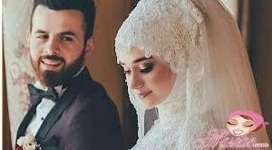بالصور صور عرايس محجبات , صور بنات محجبه فى العرس 3001 5