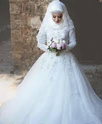 صور فساتين زفاف للمحجبات , اجمل فساتين المحجبات