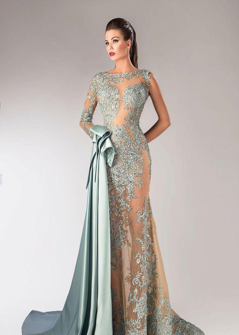 صورة موديلات فساتين سهرة , اشيك كوليكشن لفساتين السهرة