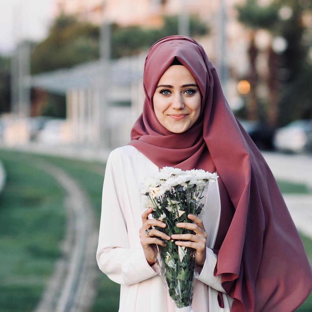 محجبات انستقرام احلى صور بنات محجبات معنى الحب