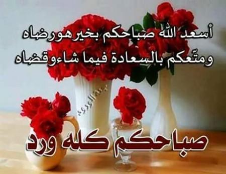 صورة احلى صباح الخير , ابدا يومك باجمل صباح