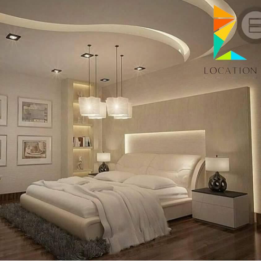 صور جبس غرف نوم , جبس غرف نوم قمه في الروعه والتصميم