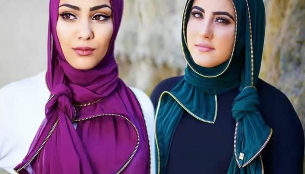 بالصور صور لفات حجاب , اثبتى وجودك بجمال لفة حجابك 6317 2