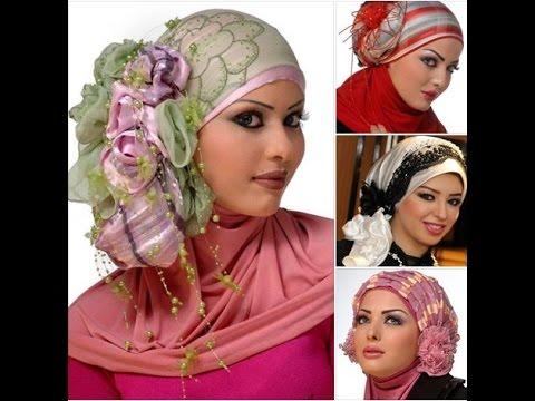 بالصور صور لفات حجاب , اثبتى وجودك بجمال لفة حجابك 6317 3