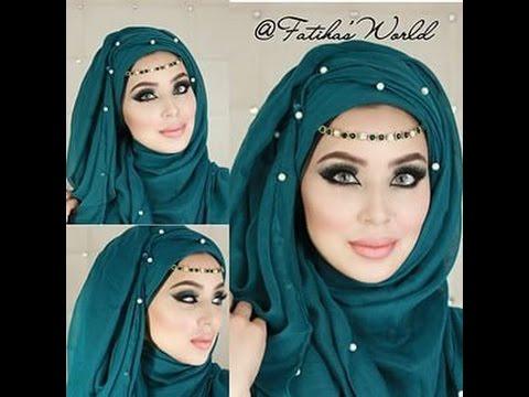 بالصور صور لفات حجاب , اثبتى وجودك بجمال لفة حجابك 6317 9
