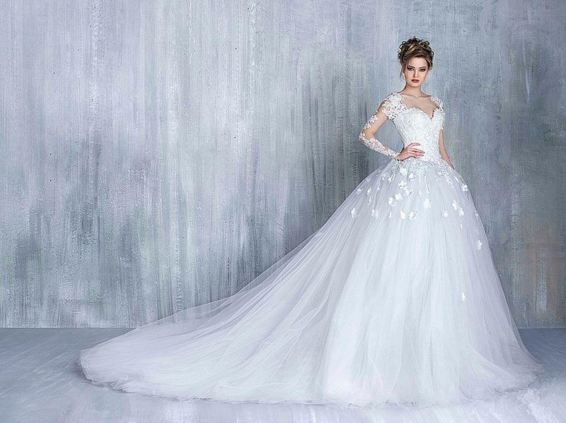 بالصور صور فساتين عرايس , تالقى فى زفافك باروع فستان سيخطف الانظار 6333