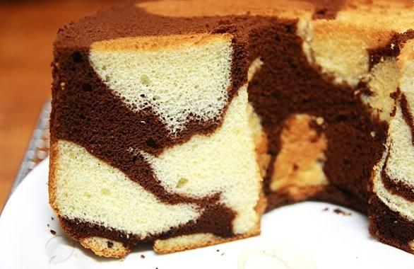 صورة طريقة عمل الكيكة الاسفنجية بالصور , الكيكه الاسفنجيه الشاهقة