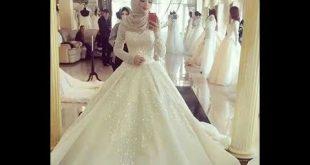 صور فساتين اعراس للمحجبات , اشيك فساتين ممكن ان ترتديه المحجبات