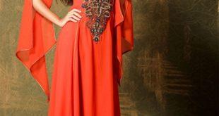 صورة جلابيات خليجية , موديلات رائعه للملابس الخليجيه