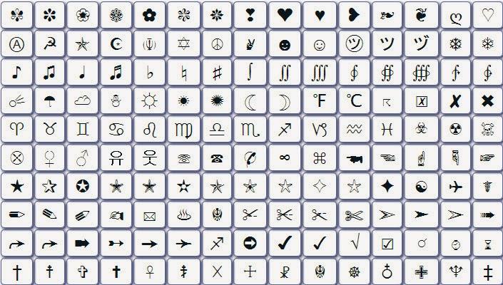 صورة رموز زخرفة , رموز جميله لزخرفة الكلمات