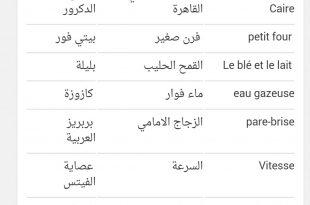 بالصور كلمات فرنسيه , اشهر الكلمات في اللغه الفرنسيه 1428 12 310x205