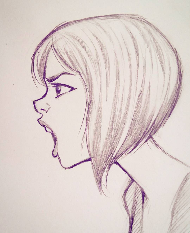 Anime Illustration Anyone Else Think This Is A Female: رسومات بنات سهله , رسومات بنات جميله وبسيطه