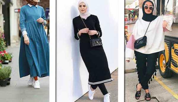 c679a41e2 ملابس محجبات كاجوال , احدث ثياب للحجاب 2019 - معنى الحب