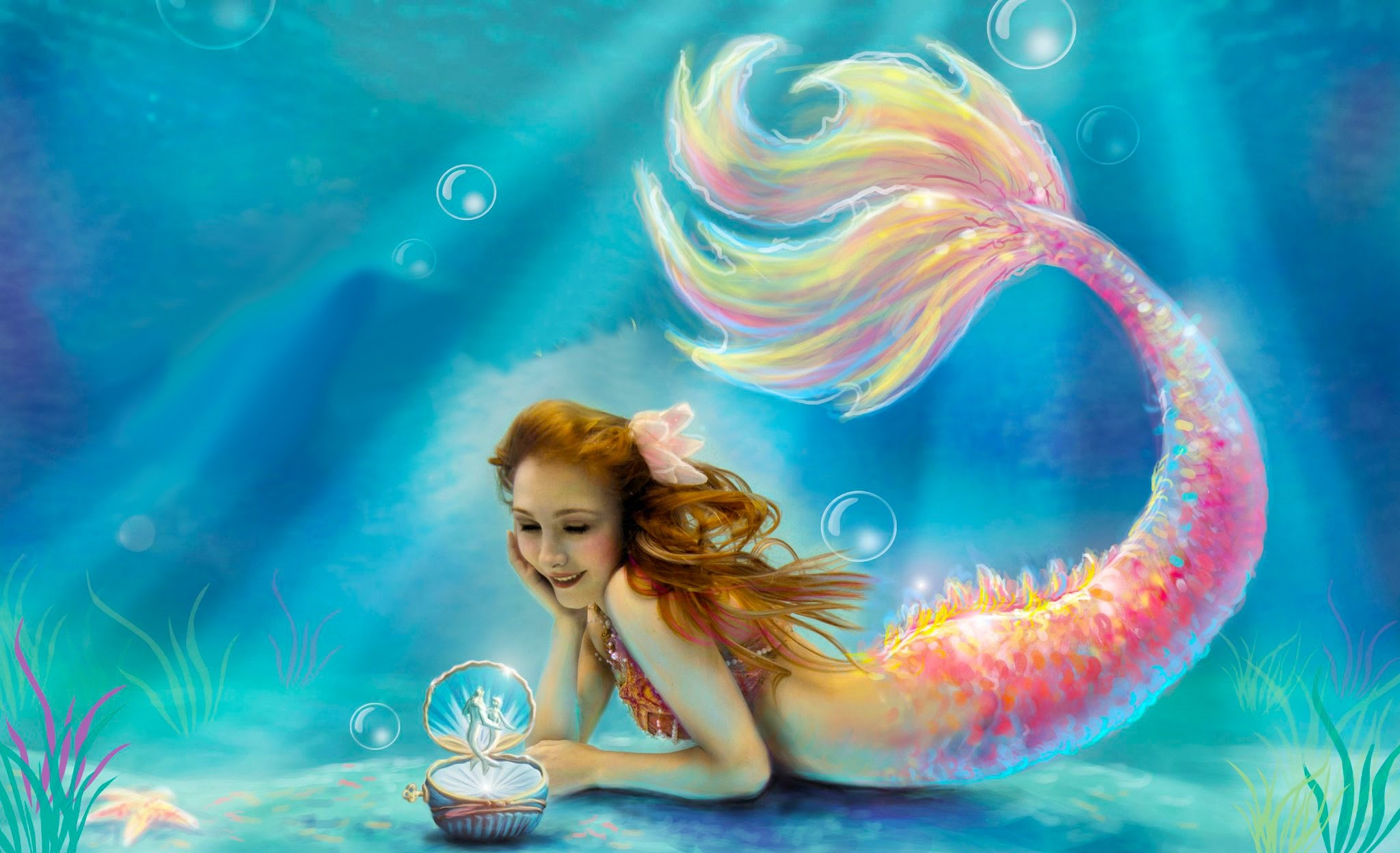 صورة صور عروسه البحر , صورة مزهلة لحورية البحار
