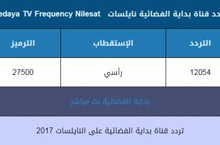 صورة تردد قناة بداية الجديد , ماهو تردد قناه بدايه