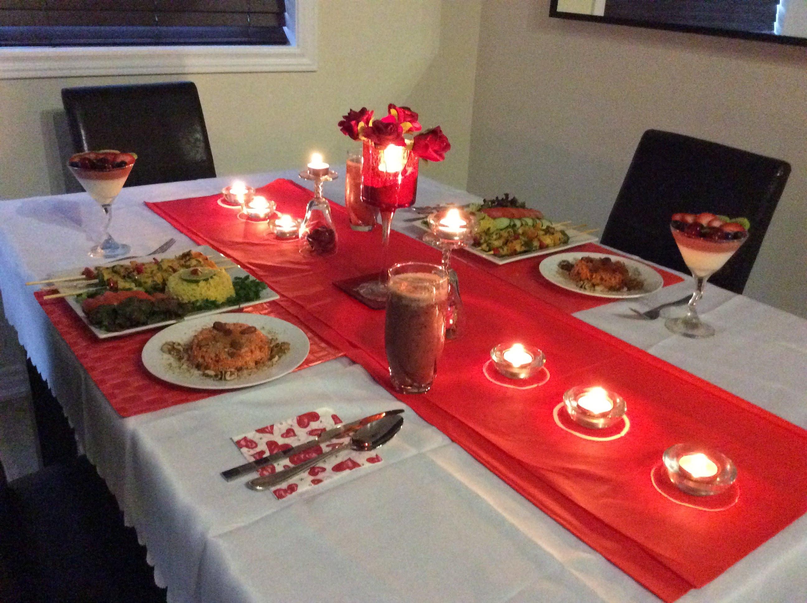 صورة عشاء رومانسي في البيت , صور رومانسية للعشاء بالمنزل 2090 2