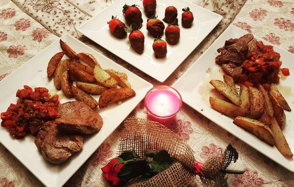 صورة عشاء رومانسي في البيت , صور رومانسية للعشاء بالمنزل 2090 8
