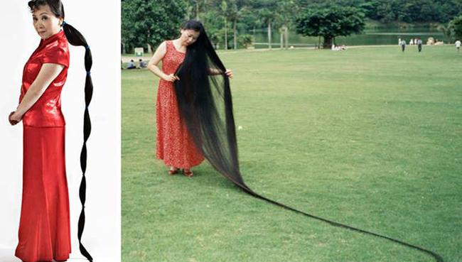 صورة اطول شعر في العالم , صور اجمل واطول شعر فى العالم