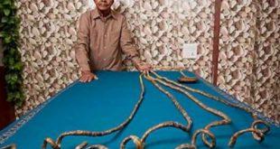 صوره اطول اظافر في العالم , احدث شكل اطول ظفر