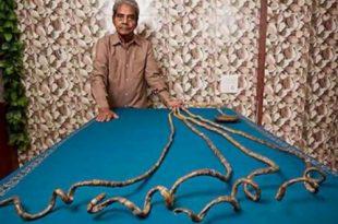 صور اطول اظافر في العالم , احدث شكل اطول ظفر