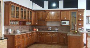 صورة صور مطابخ خشب , مجموعة صور للمطابخ الخشبية