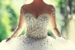 صورة فساتين زفاف فخمه , اجمل فساتين الزفاف