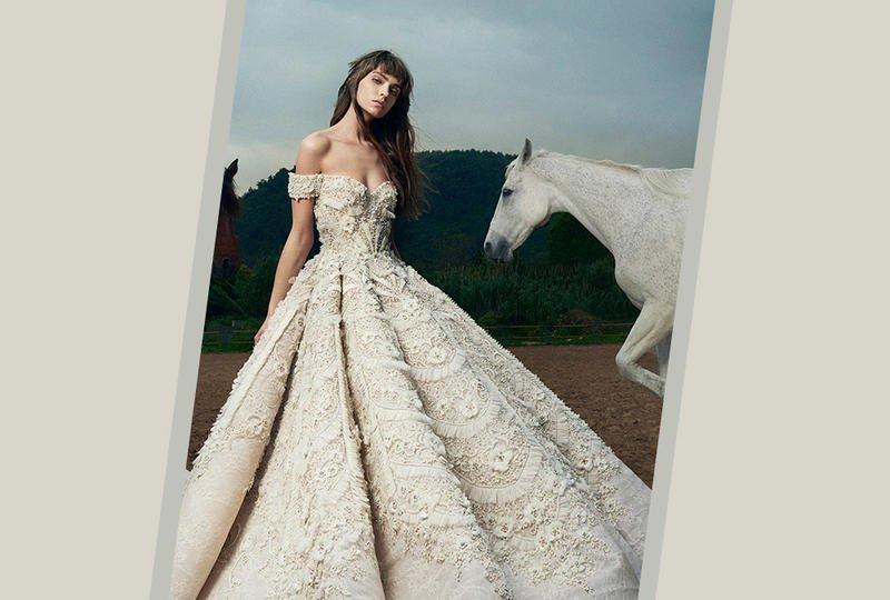 بالصور فساتين زفاف فخمه , اجمل فساتين الزفاف 4839 5