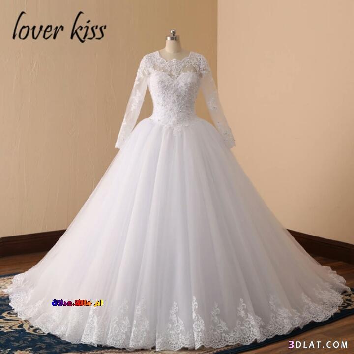 بالصور فساتين زفاف فخمه , اجمل فساتين الزفاف 4839 6