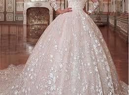 بالصور فساتين زفاف فخمه , اجمل فساتين الزفاف 4839 9