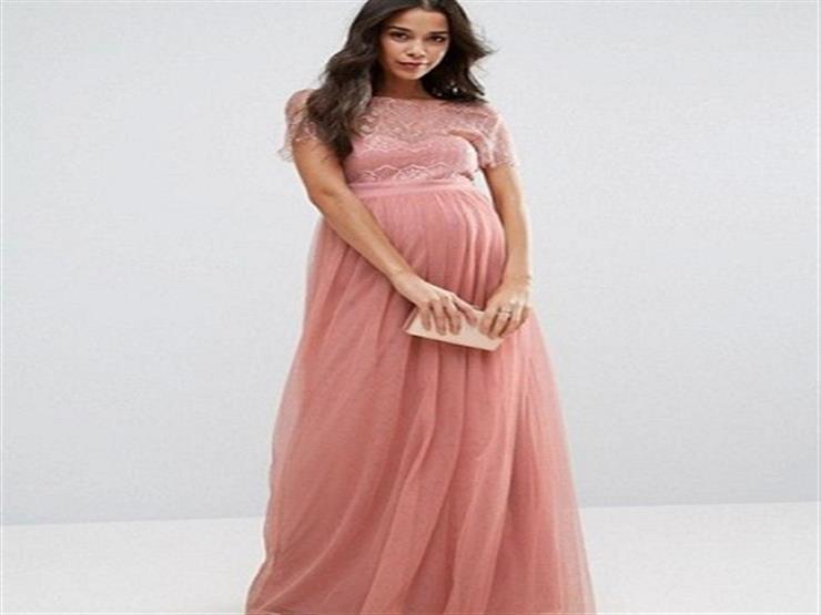1cc473411 فساتين سهرة للحوامل , فستان سهره للحامل - معنى الحب