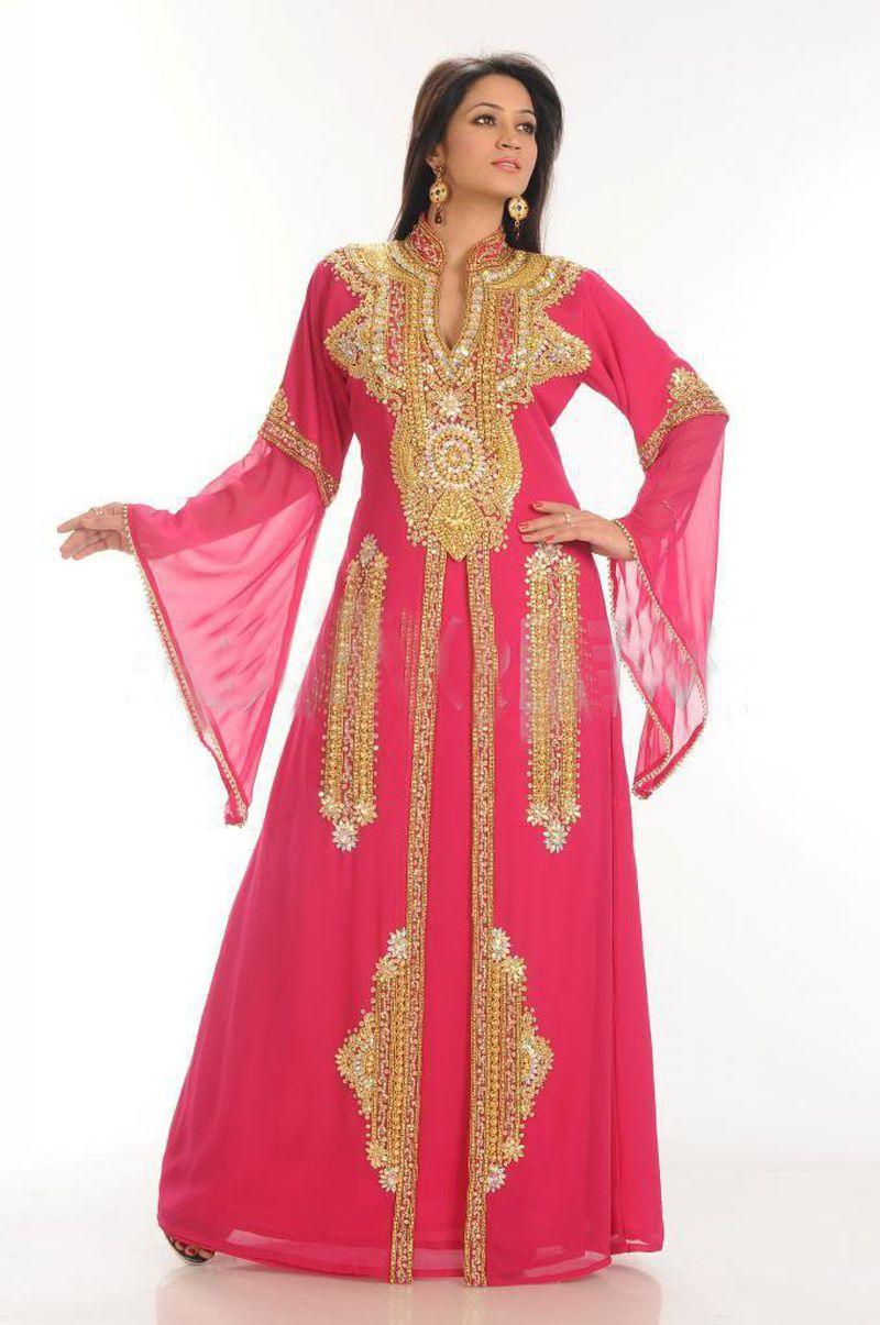 صوره عبايات مغربية , بعض اشكال العباءات المغربيه