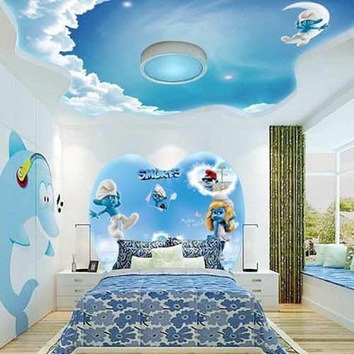 صوره ديكورات جبس غرف نوم اطفال , ديكورات رائعه لغرف نوم الاطفال