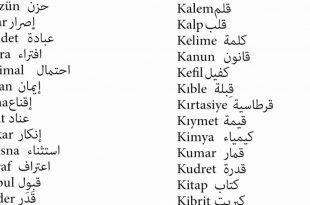 صور كلمات بالتركي , اكثر الكلمات استخداما في اللغه التركيه