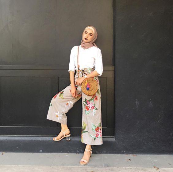 بالصور ملابس محجبات 2019 , بنات محجبة بملابس احدث صيحات الموضة 178 7
