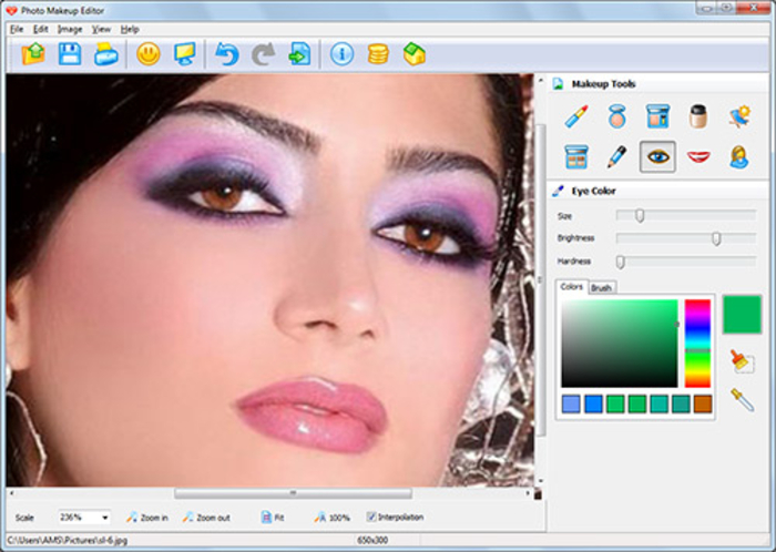 بالصور ميك اب للصور , تعديل الصور و عمل مكياج لها 2071 6