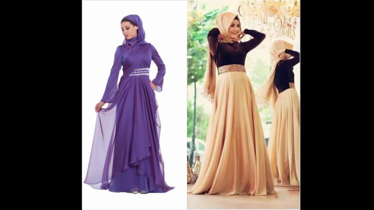 بالصور صور فساتين سهرة للمحجبات , صورة اجمل فستان للحجاب 2143 10