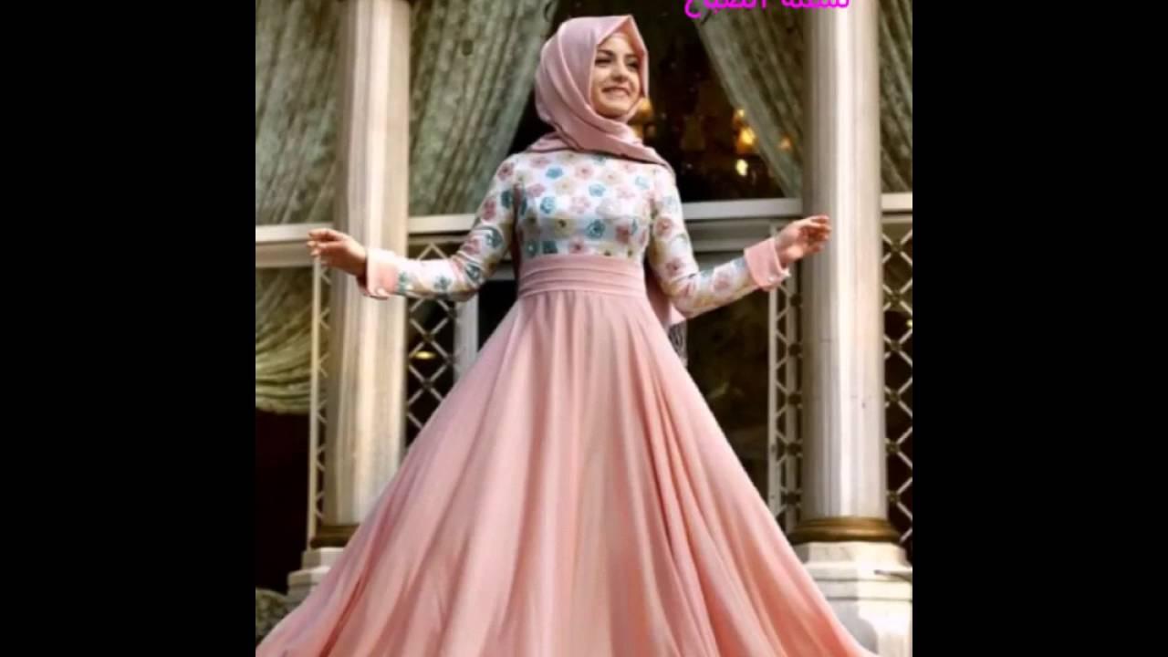 بالصور صور فساتين سهرة للمحجبات , صورة اجمل فستان للحجاب 2143 2