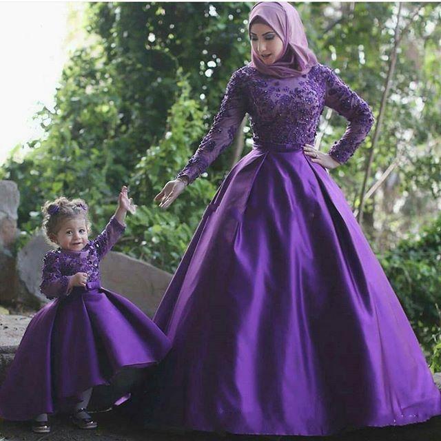 بالصور صور فساتين سهرة للمحجبات , صورة اجمل فستان للحجاب 2143 8