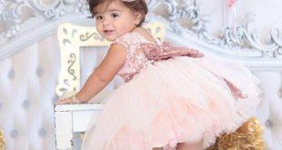 صوره فساتين اطفال بنات , شاهدى اجمل فستان لطفلتك