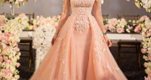 صوره فساتين خطوبة , صورة اجمل فستان لخطوبتك