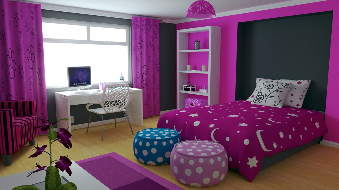 بالصور غرف اطفال بنات , اجمل حجرة نوم للفتيات الصغيرات 2204 2